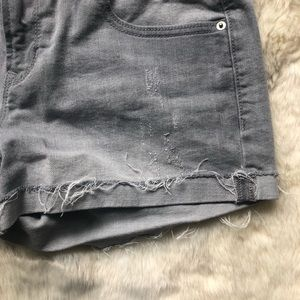 Old Navy Shorts - Old Navy Gray Boyfriend Shorts